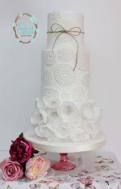 Doily Wedding Cake » Princesses & Tiaras ~ Princess Party Ideas, Princess Themed Events, Princess Party Inspiration & More