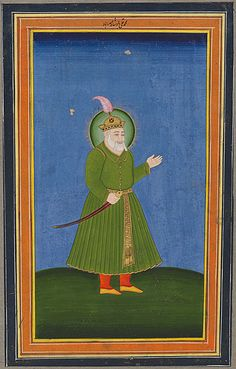 Muhammad Quli Qutb Shah, fifth Sultan of Golconda and founder of Hyderabad Mughal Paintings, Islamic Paintings, Old Warrior, Mughal Empire, Blue Bloods, Muhammad, Hyderabad, Emperor, Warriors