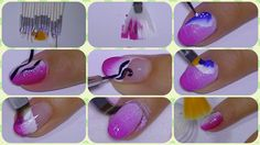 The Perfect Nail Art Set Of Brushes,dresslink com