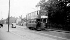 Leeds Trams. Horsfield 172 operating service 5 to Beeston. Photo by R. B. Parr.