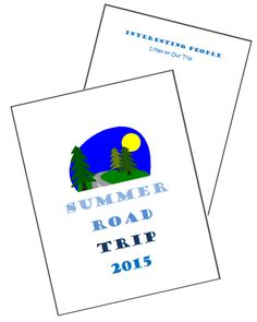 40 Free printable activities for your next awesome family road trip! Plus tutorial for a great travel binder for kids.