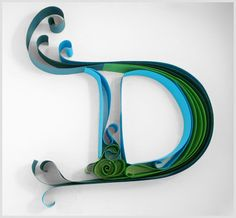 Amazing Typography Made Of Paper