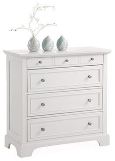 Naples Chest, White contemporary-accent-chests-and-cabinets