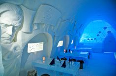 Where: Kemi, Finland Celebrating its 20th anniversary this year, the SnowCastle of Kemi is the biggest snow fort in the world. The castle is redesigned each year with a new theme but always contains a chapel, hotel, and restaurant.