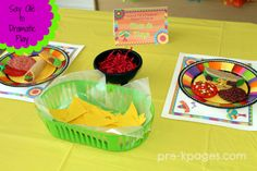 Mexican Restaurant Dramatic Play ideas from Pre-K Pages
