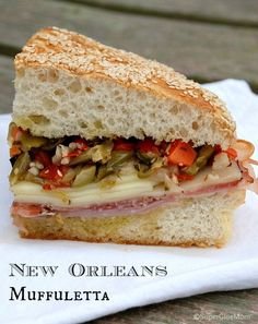 This step-by-step recipe will show you how to make a delicious New Orleans Muffuletta Sandwich at home!