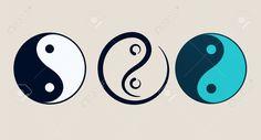 Mooie ronde vorm, links is zoals het hoort, die in het midden spreekt me aan.  Ying Yang Symbole De L'harmonie Et De L'équilibre Clip Art Libres ...