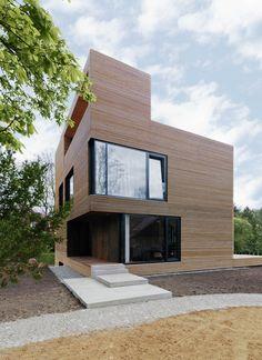 Holzbaupreis Neubau 2015 I Haus in Reinbek I Wacker Zeiger Architekten I Foto: Johannes Hünig I competitionline