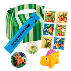 Dinosaur Train Party Favor Box from PBS Kids Shop