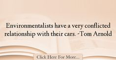 Tom Arnold Quotes About Car - 8342