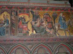 Paris, Notre Dame apse frieze, Massacre of the Innocents