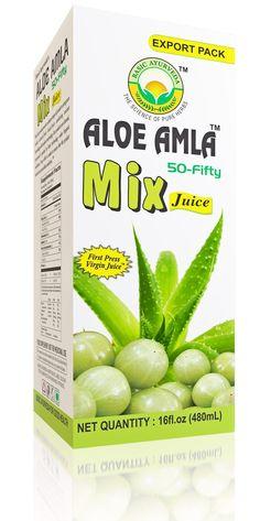 Amla-Aloe mix Juice gives you the befits of Indian gooseberry (Amla) and Aloe vera in one juice