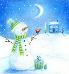 Ileana Oakley - snowman robin presents.jpg