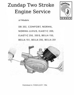 Villiers Mk3 F Motorcycle Engine Service and
