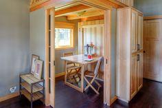 West Coast Homes   Park Model   Tiny House   Flex Room   Murphy Bed - Table