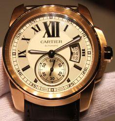 cartier watch   Cartier Calibre Watches