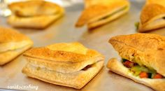 Veggie puff pastry.