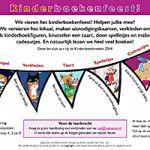 Kinderboekenfeest  De 60e editie van de Kinderboekenweek vindt plaats van 1 t/m 12 oktober 2014. Het thema is Feest! Omdat de Kinderboekenweek bij uitstek hét moment is om kinderen te stimuleren meer te lezen en om ouders bij het voorlezen te betrekken, gebruik ik in mijn les het thema Feest om met de kinderen een Kinderboekenfeest te organiseren.