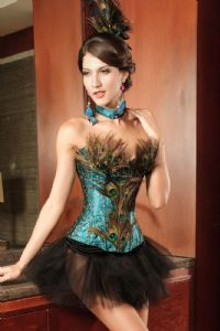 So wonderful! Moulin Rouge Costumes, Gold Corset, Corset Bustier, Overbust Corset, Sexy Corset, Blue Corset, Bustier Top, Burlesque Outfit, Burlesque Corset