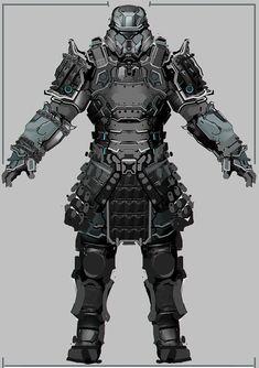Iron Shogun - Armor Concept Progress Post, Adam Beardall