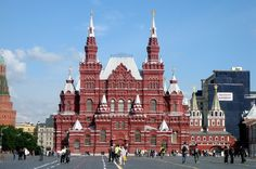 Ornate State Historical Museum, Red Square, Moscow, Russia | par Bencito the Traveller