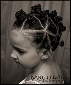 This specifically links to a how-to on Bantu knots, but has info for many other…
