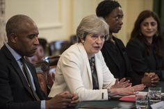 Theresa May hosts a race disparity roundtable at Number 10 to launch the new Ethnicity Facts & Figures website, Tuesday 10 October 2017. Image: public domain
