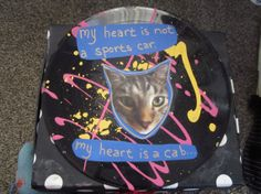 xoxo cat collage by TheEscapistArtist on Etsy, $7.00