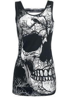 Jawbreaker Crow Skull Top ~ EMP