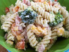 Mrs. Schwartz's Kitchen: Ranch Pasta Salad