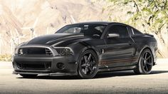 A monstrous Mustang on Concept One Wheels. Ford Mustang Shelby Gt500, Mustang Cars, My Dream Car, Dream Cars, Mustang Super Snake, 2013 Mustang Gt, Street Racing Cars, Cool Sports Cars, Fancy Cars