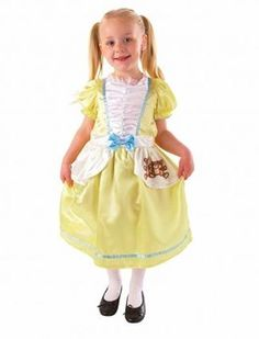 Dress with Attached Apron Print and Bow Detailing Available in 2 sizes 3-5 years 6-8 years Product Code