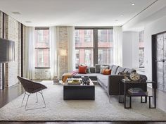 Confronted with an historic loft in New York's SoHo district in need of an update, architects Bronwyn Breitner and Luigi Ciaccia executed a gut renovation to introduce more natural light throughout the interior while honoring the original character of the former industrial space. photos by: Frank Oudeman