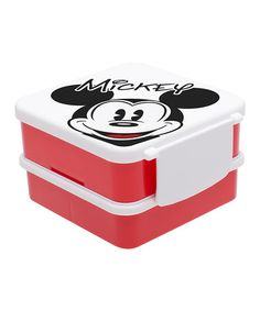 Look at this #zulilyfind! Mickey Mouse Bento Box by Mickey Mouse #zulilyfinds