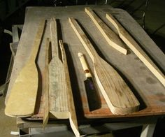 how to make boat oars from 2x4