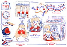 Scribble Project Interview by Bárbara Fonseca, via Behance
