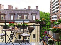 52 Zdobení nápadů pro malé balkony