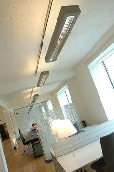 d-CONCRETE DARK / design / lighting / darling #DARK Track Lighting, Concrete, Ceiling Lights, Dark, Design, Home Decor, Home Interior Design, Decoration Home