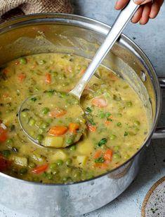 lockdown Cooking on March 30 2020 food Veggie Stew Recipes, New Recipes, Vegan Recipes, Vegan Food, Vegan Stew, Vegan Soups, Vegetable Stew, Vegetable Dishes, Healthy Vegetables