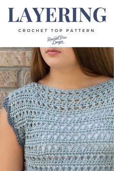 Use this Free Crochet Top Pattern to make the Olivia Crochet Sweater! You CAN le… Use this Free Crochet Top Pattern to make the Olivia Crochet Sweater! You CAN learn how to crochet a sweater today with this free crochet pattern! Crochet Tank, Crochet Cardigan, Crochet Shawl, Easy Crochet, Knit Crochet, Crochet Sweaters, Crochet Gifts, Tutorial Crochet, Crochet Shrugs