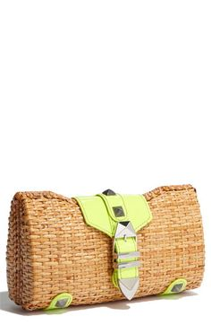 Rebecca Minkoff does it again.  This shade of lime is my favorite color for the coming S/S!
