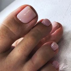 Easy Toe Nails In Nude Colors ❤ Amazing Toe Nail Colors To Choose In 2019 … - Summer Nail Purple Ideen Black Toe Nails, Simple Toe Nails, Summer Toe Nails, Cute Toe Nails, Pretty Nails, Pink Toe Nails, Pink Pedicure, Pedicure Colors, Nail Colors