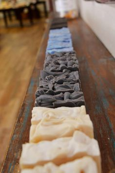 Gorgeous soaps from Bathhouse Soapery & Caldarium