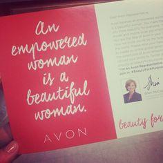 Avon #beautyforapurpose