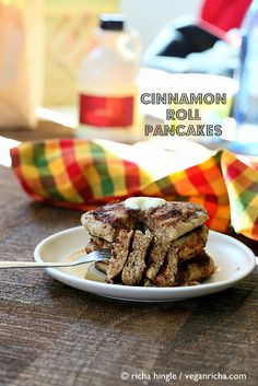 You had us at Cinnamon Roll Pancakes––two of life's finest things combined into a mile-high stack of fluffy goodness.