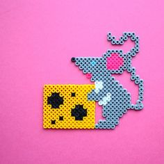 Mouse hama perler beads by Little Miss Productive