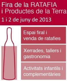 L'1 i 2 de juny a Centelles hi haurà la Fira de la Ratafia i Productes de la Terra. mercavima.com amb el producte local