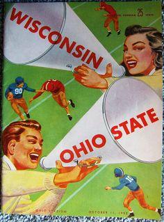 Check out Wisconsin at Ohio State Stadium Football Program 1952 USA Vintage Advertisements  http://www.ebay.com/itm/Wisconsin-Ohio-State-Stadium-Football-Program-1952-USA-Vintage-Advertisements-/161608666594?roken=cUgayN&soutkn=pnsMAS via @eBay