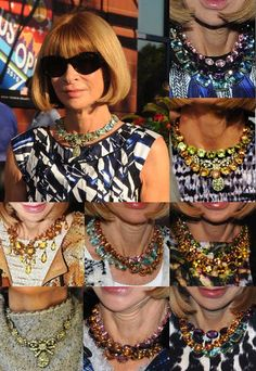 Anna Wintour - Style - Necklace - REPRODUCAO