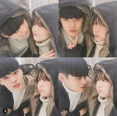 Jealous people never deceive. Cute Couples Photos, Couples Images, Couple Pictures, Ulzzang Couple, Ulzzang Girl, Korean Couple Photoshoot, Siblings Goals, Beach Aesthetic, Couple Relationship
